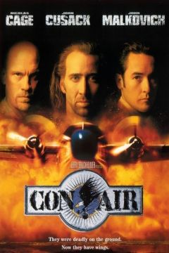 """""""Con Air"""" (1997) directed by Simon West, starring Nicolas Cage, John Cusack"""