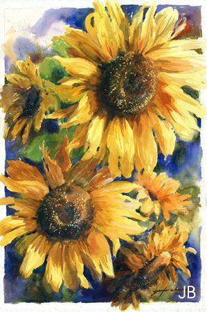 Watercolor Paintings by Jennifer Bowman
