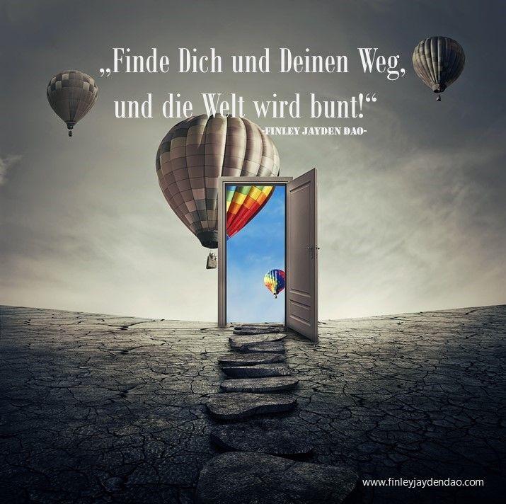 Werde zu einem Detektiv und begebe Dich auf die Suche nach Dir und Deinem Weg! Titel: Die Welt wird bunt Text u. geistiges Eigentum: Finley Jayden Dao Bild;  https://www.finleyjaydendao.com/