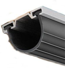 Garage Door Bottom Seal Kit Aluminum Channel and Rubber Seal