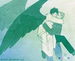 Image result for destiel fanart