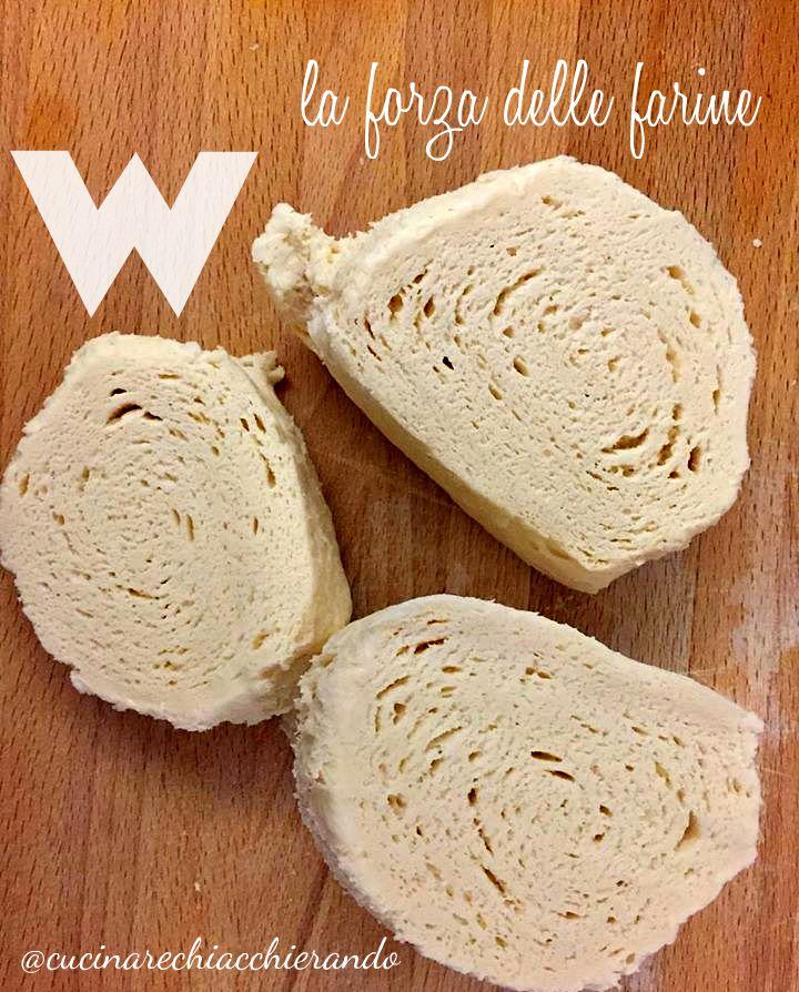 Un articolo dedicato alla forza della farina, con la ricetta per preparare dei buonissimi panini al cioccolato utilizzando il lievito naturale