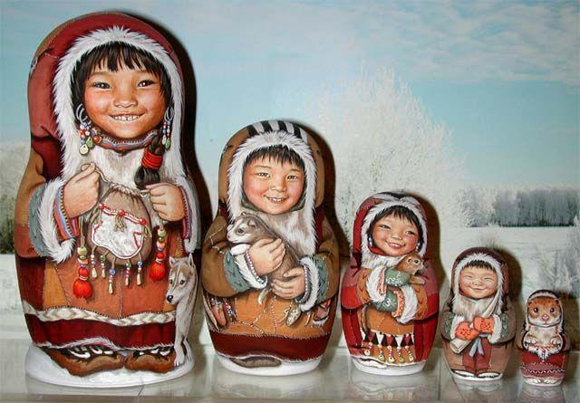 Eskimos by Efimova-Lida's Studio Moscow, Russia