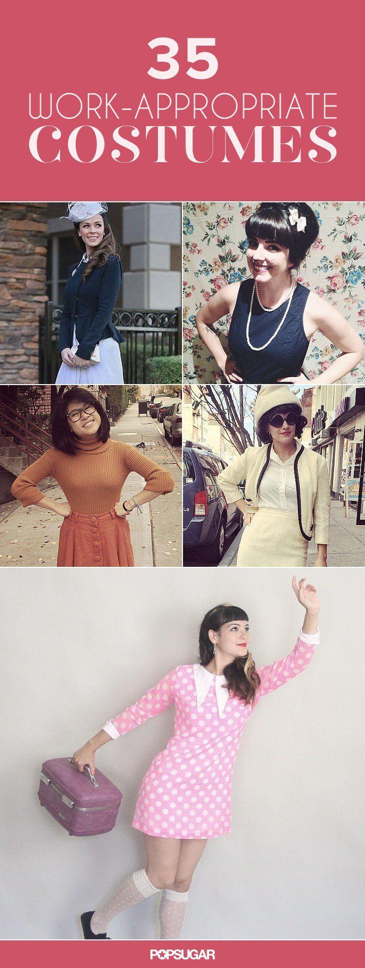 1000+ Ideas About Work Halloween Costumes On Pinterest