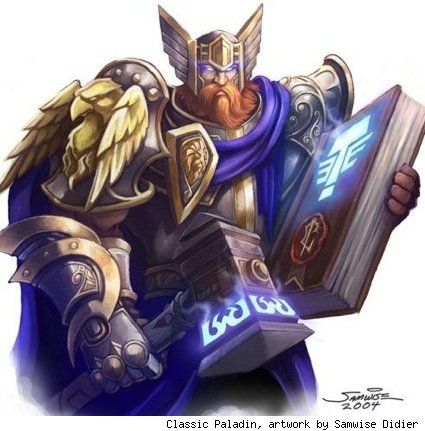 Classic Paladin from World of Warcraft