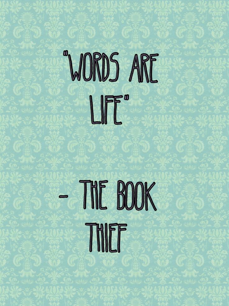power of words book thief essay