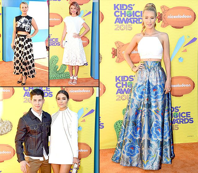 Nickelodeon Kids' Choice Awards 2015: What the Stars Wore