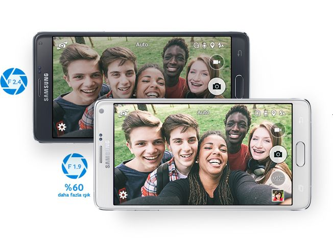 Samsung Galaxy Note 4'ü genel bir incelemeye aldık, tüm detaylarıyla işte Samsung Galaxy Note 4