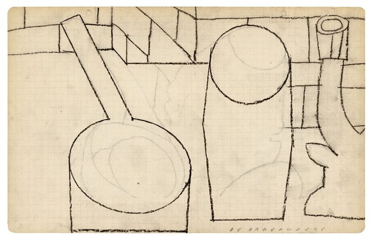 Mario De Brabandere, Works on Paper, Posture Editions, 2015