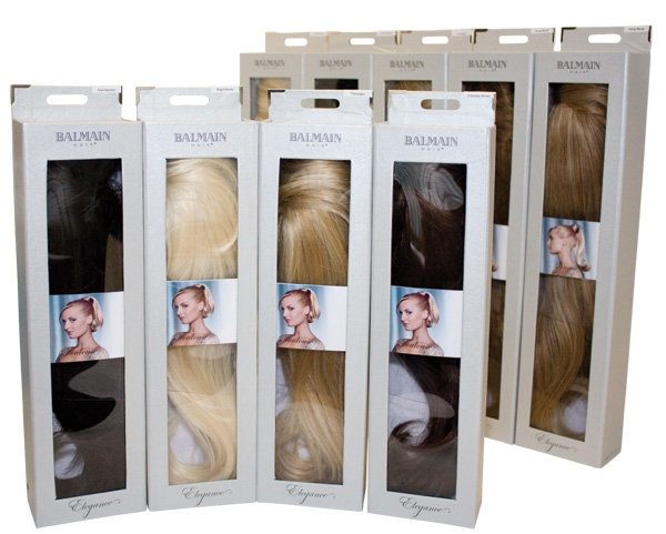 Elegance collection by Balmain Hair - The Pony's. Clip in Hair extensions.