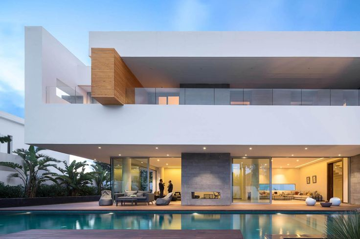 Cores! Villa C a modern private house in a luxury suburb of Rabat Morocco - CAANdesign | Architecture and home design blog