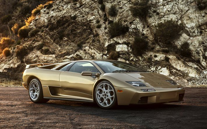 ランボルギーニディアブロ, スーパーカー, イタリアのスーパーカー, クラシックのスポーツ車, ランボルギーニ