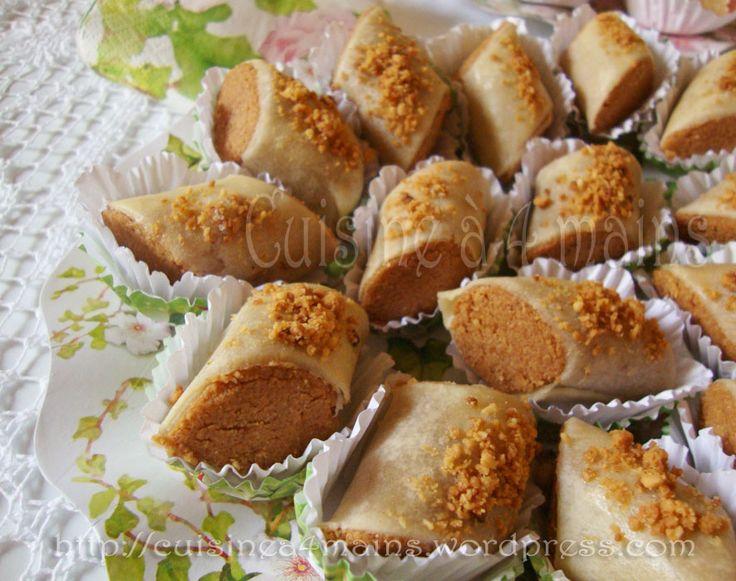 Les Skandraniettes sont connues comme une pâtisserie algérienne généralement coupée en losange , constituée d'une fine pâte refermant une farce aux amandes, cuite au four et arrosée au miel…