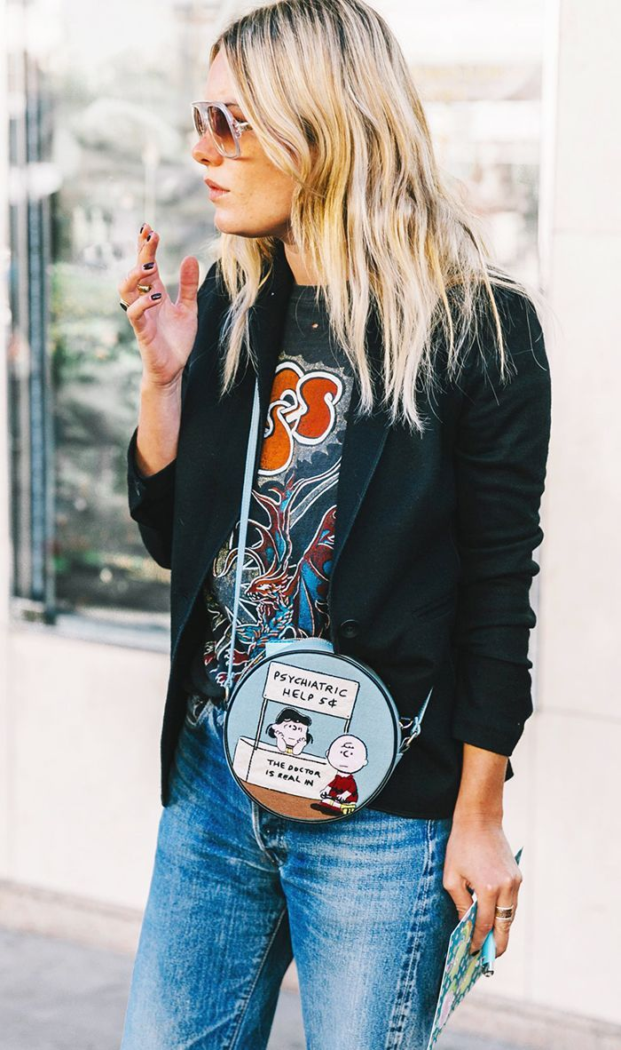 A celebrity stylist is sharing five tips for finding the best vintage T-shirts and where to buy them.