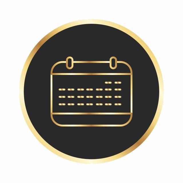 رمز تقويم المشروع جدول رموز أيقونات المشروع أيقونة التقويم Png والمتجهات للتحميل مجانا Calendar Icon Calendar Vector Calendar Icon Png