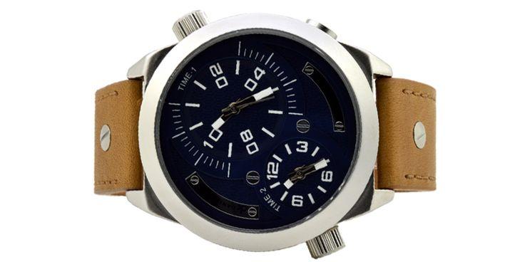 daniel klein 010123-7 ανδρικό ρολόι με διπλή ένδειξη ώρας,Αδιάβροχο : 3 ATM.Διάμετρος καντράν : 50mm. Εγγύηση : 2 χρόνια,Διάμετρος καντράν:50mm,roloi.net.gr