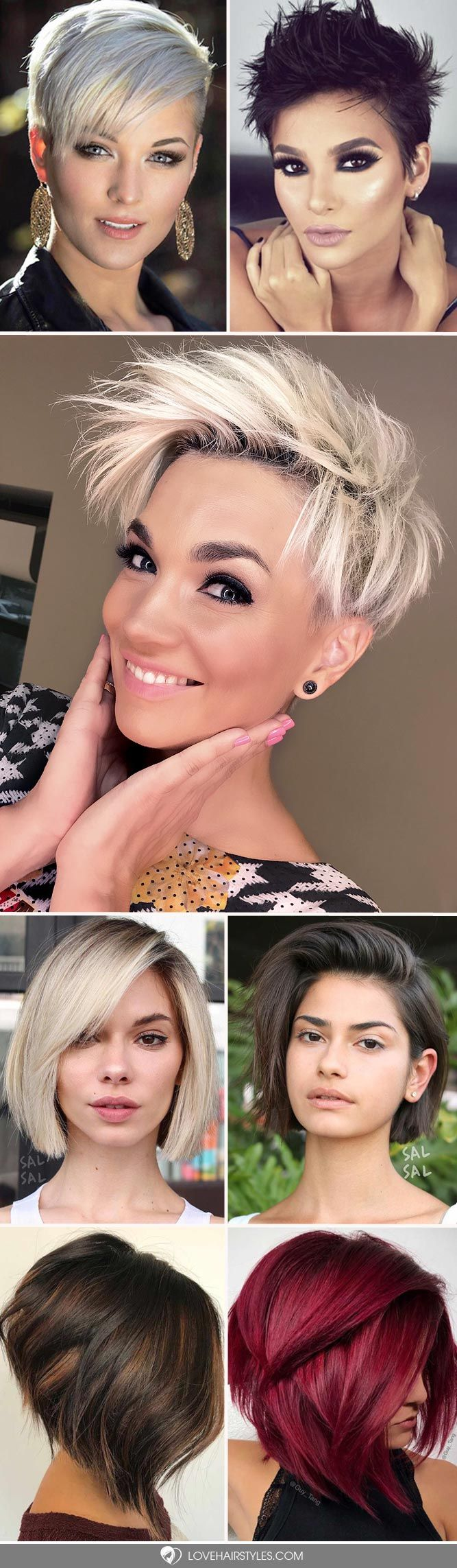 Are you out of short hair ideas? We can solve this problem! We always follow the trends to keep you updated. This photo gallery is a must-see! #shorthair  #shorthairstyles #hairstyles
