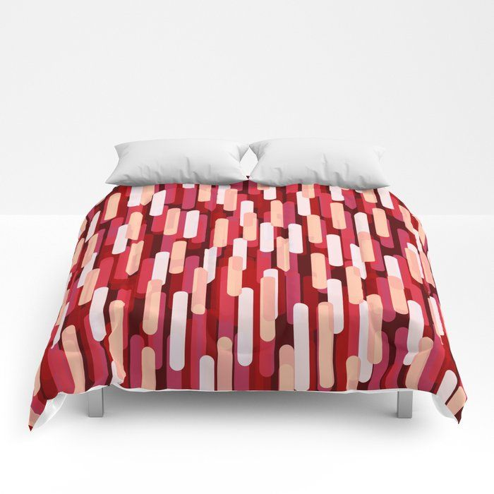 Our Lightweight Warm Comforters Induce Sweet Sweet Sleep And Take Your Bedding To The Next Level Designs Are Print Red Duvet Red Duvet Cover Red Comforter