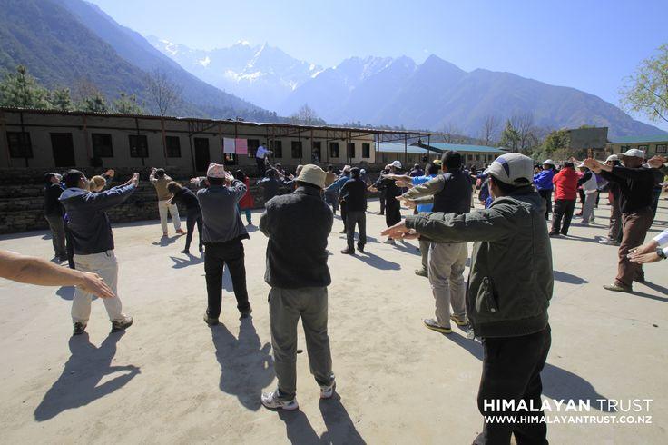 2014 Nepal - Himalayan Trust Teacher training programme