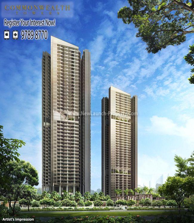 Commonwealth Towers Next to Commonwealth MRT