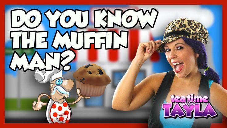 Do You Know the Muffin Man Nursery Rhyme Lyrics | Kids Songs on Tea Time...