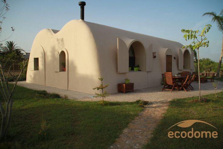 Casa ecológica de tierra