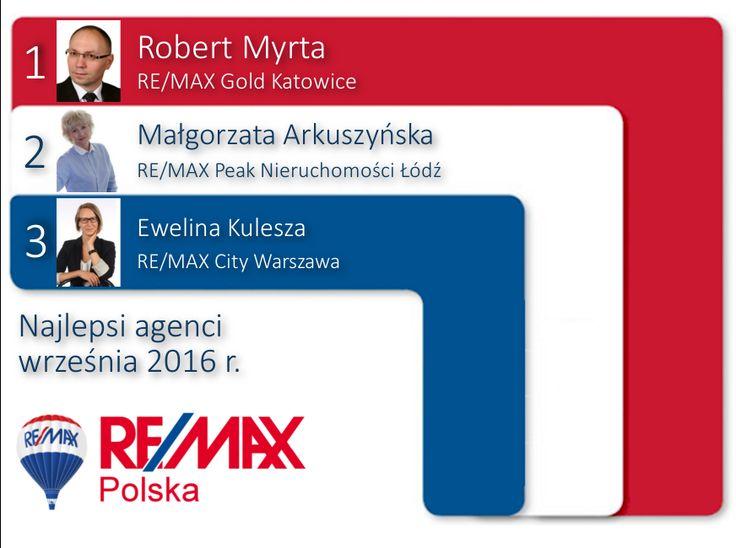 Agenci września 2016 RE/MAX Polska