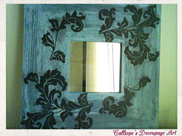 Καθρέφτες   Calliope's Decoupage Art