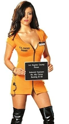 Sexy Prisoner 2013 Halloween Costumes