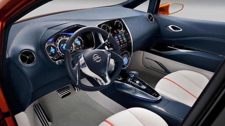Nissan Ellure Hybrid Sedan Concept Nissan Usa ... Nissan Classics & Concepts on Pinterest | Sedans, Sports sedan and