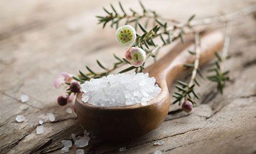 アロマと塩で作るバスソルト