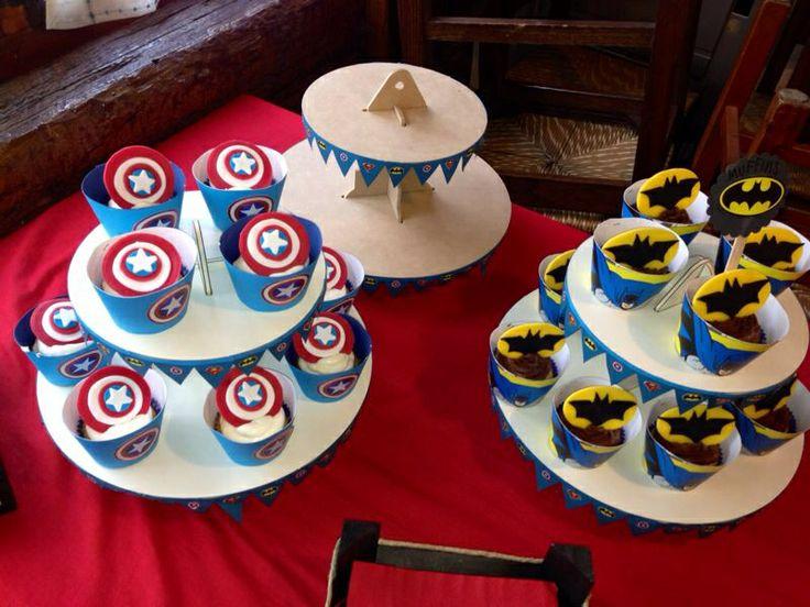 Cup cake per super eroi!!!!