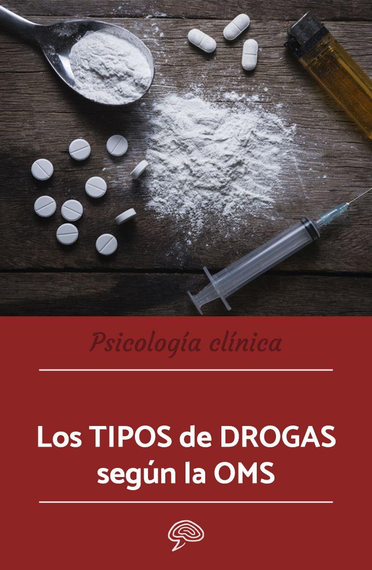 tipos de drogas y sus efectos para la salud