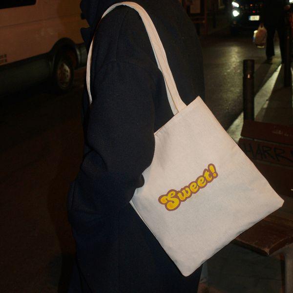 Candy Crush Tote Bag de Mr. Rancio! Ilustración por DaWanda.com