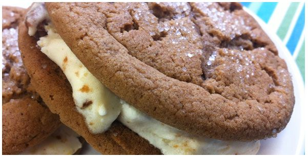 ... triple ginger ice cream sandwiches recipes dishmaps triple ginger ice