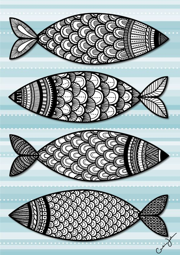 Google Image Result for http://thecarolinejohansson.com/blog/wp-content/uploads/2011/03/something.fishy_.going_.on_.illustration.drawing.fish.black_.white_.caroline.johansson1.jpg