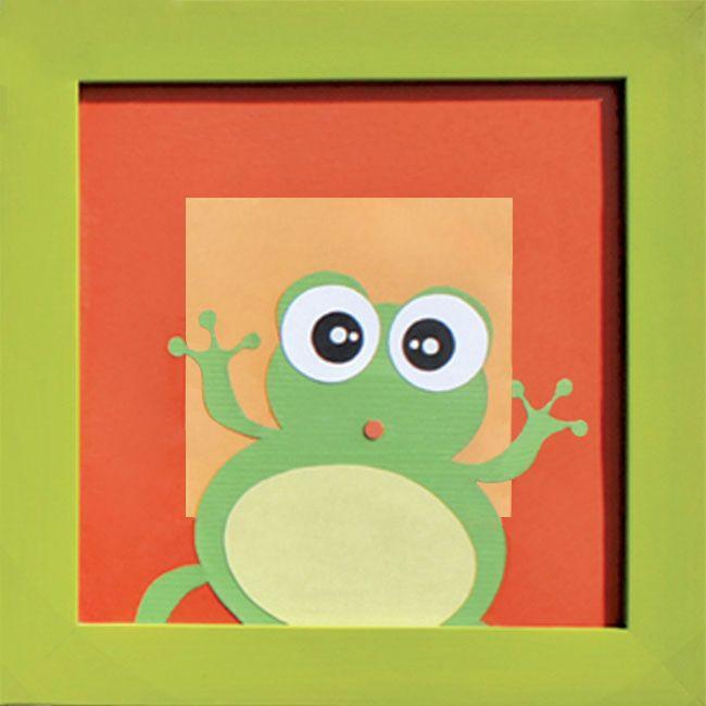 #cuadro #decoracion #rana #bebe #ecologico #diseño #ecommerce http://www.regalosdirecto.com.mx/para-el-bebe/igriega-kids/cuadro-rana.html