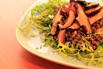 Lentils, Mushrooms and Vinaigrette on Pinterest