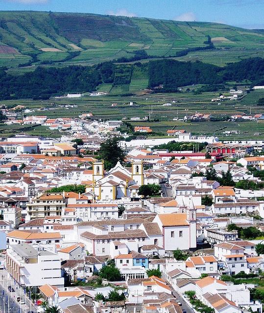 Praia Da Vitoria, Terciera, Azores this lil village was right outside the base., Azores, Portugal