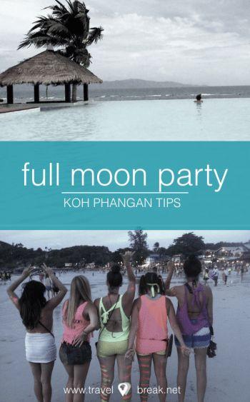 16 Tricks Full Moon Party Thailand