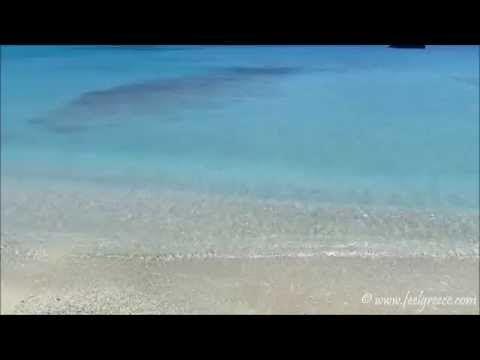 Meltemi gusts at the beach; video from Prassa - Agios Georgios beach, Kimolos island, Cyclades