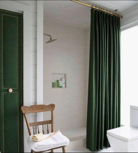 Velvet Shower Curtain Velvet Green Velvet Shower Curtain Purple
