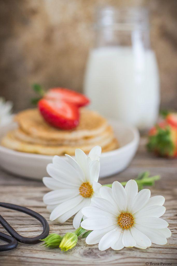 Pancakes allo yogurt greco e albumi3 - Ileana Pavone