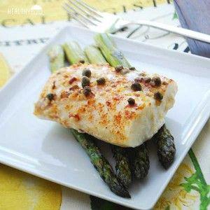 lemon baked cod