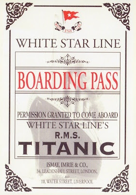 100th Anniversary .. TitanicTitantic, Titanic Exhibitions, Rms Titanic, Ships, Titanic History, Titanic Boards, Nature History, Boards Pass, Artifacts Exhibitions