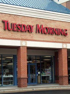 #Tuesday Morning--used to shop this store faithfully when we lived in Boise, Idaho. Now I don't live near one.