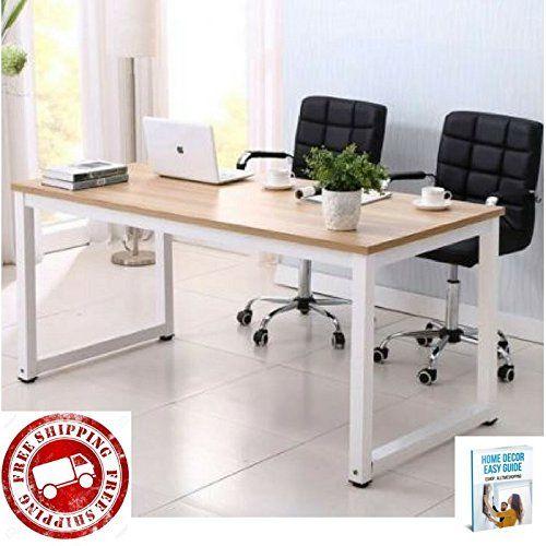 computer desk for home office portable modern wooden big laptop computer gaming desk furniture ebook - Desk Modern Design
