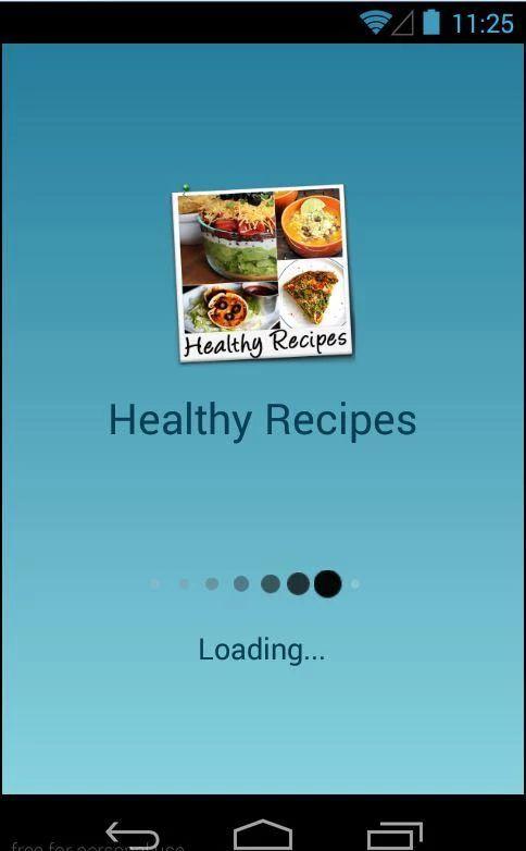 Healthy Recipes Free - screenshot