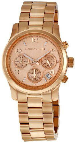 Michael Kors Rose Gold Runway Watch – Women's Watch MK5128