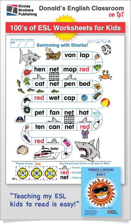esl phonics spelling book 2 3 student spelling and phonics. Black Bedroom Furniture Sets. Home Design Ideas